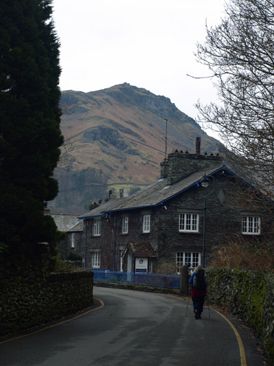Helm Crag from Easedale Road